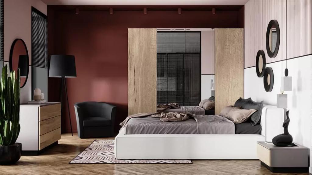 Спальня в стиле джапанди