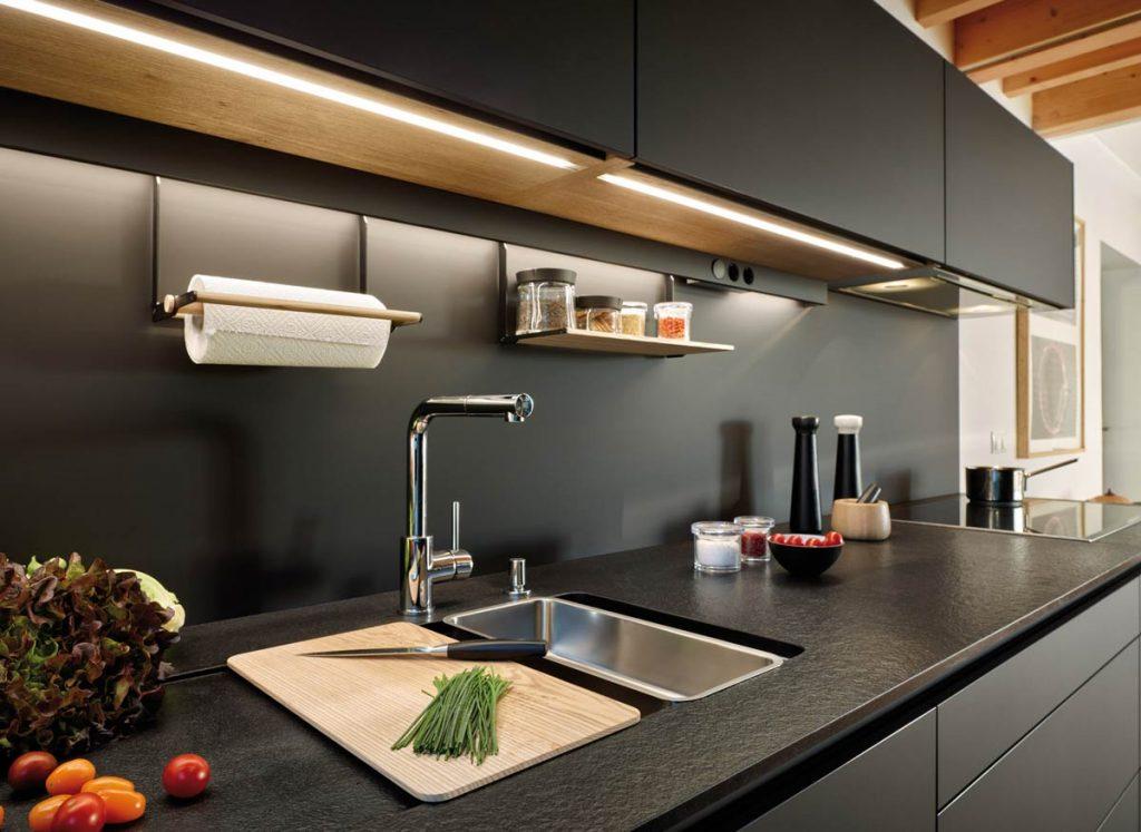 Декоративное освещение на кухне