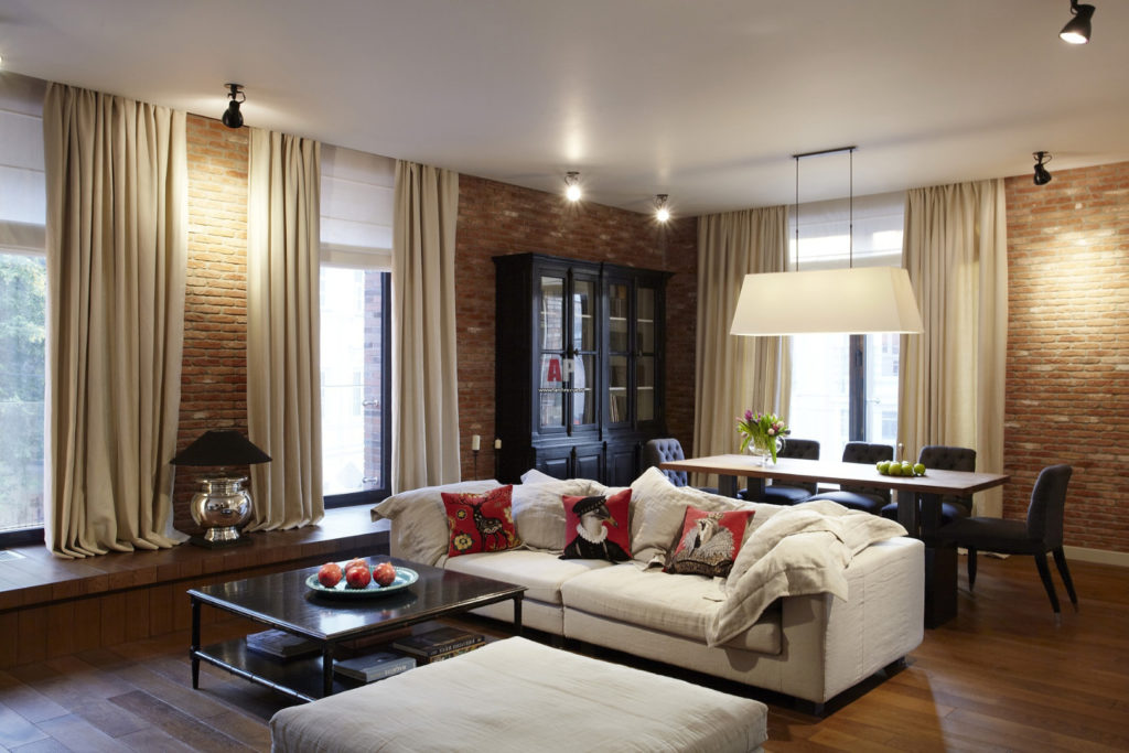 Дизайн квартиры в американском стиле