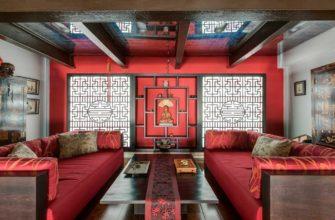 Китайский стиль в интерьере квартиры