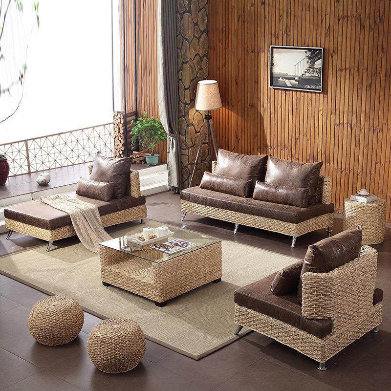 Мебель из ротанга в скандинавском стиле